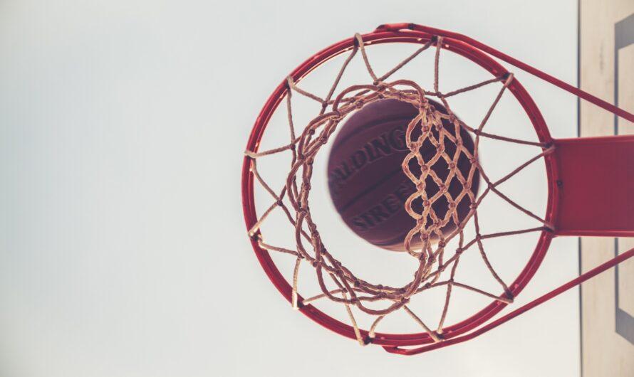 HomeX.dk byder på sjov til børn og voksne med en basketstander og basketball bolde