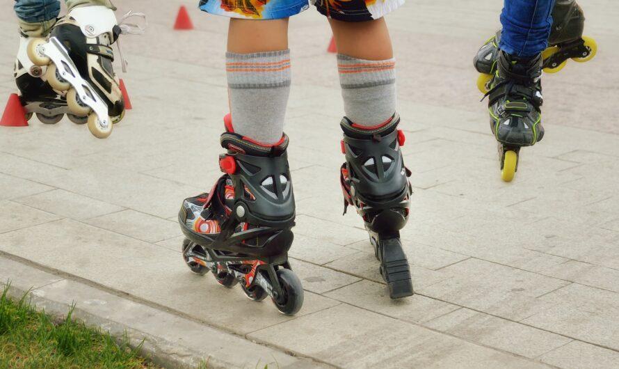 Løbehjul med store hjul samt side-by-side rulleskøjter hos Skatetema.com
